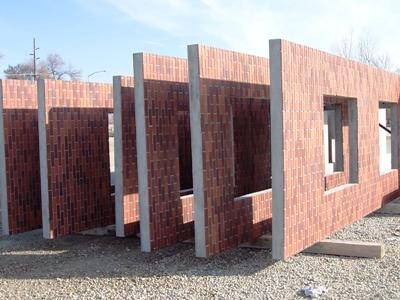Re Brick Wall Or Brick Facade Architecture In