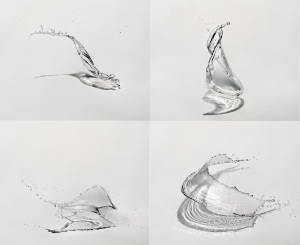 water sculpture