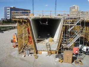 35W Bridge Casting